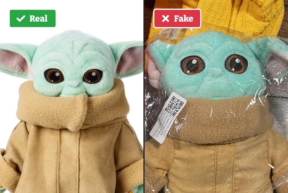 Fake Baby Yoda