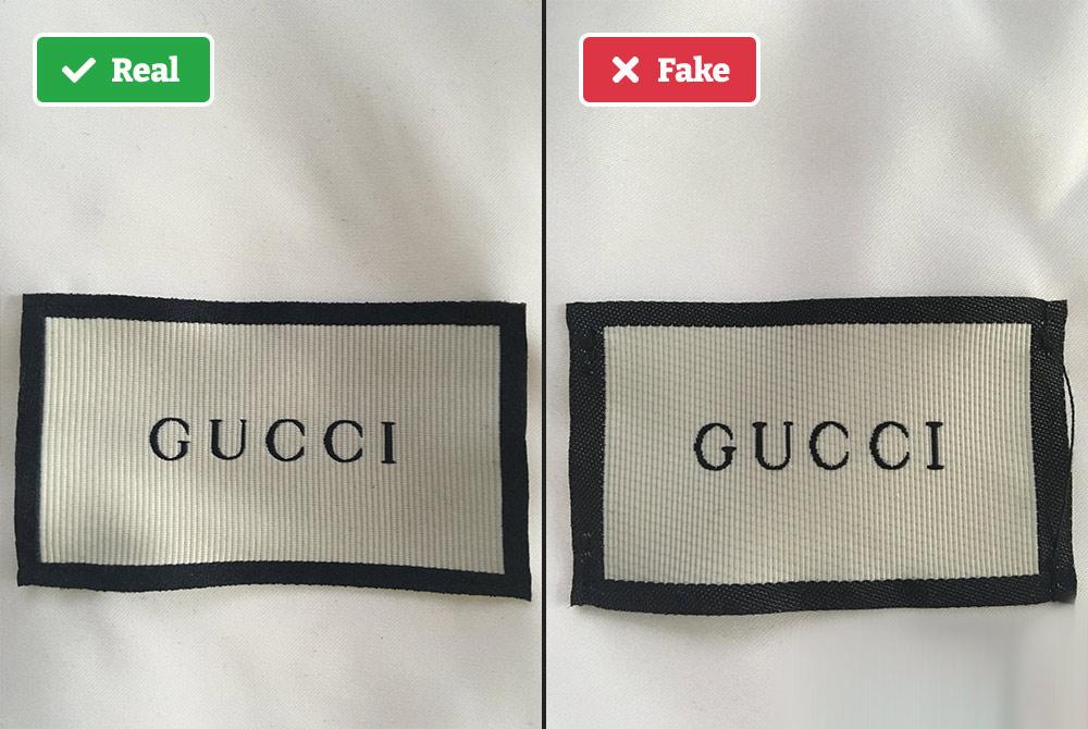 Fake vs real Gucci inner dust bag