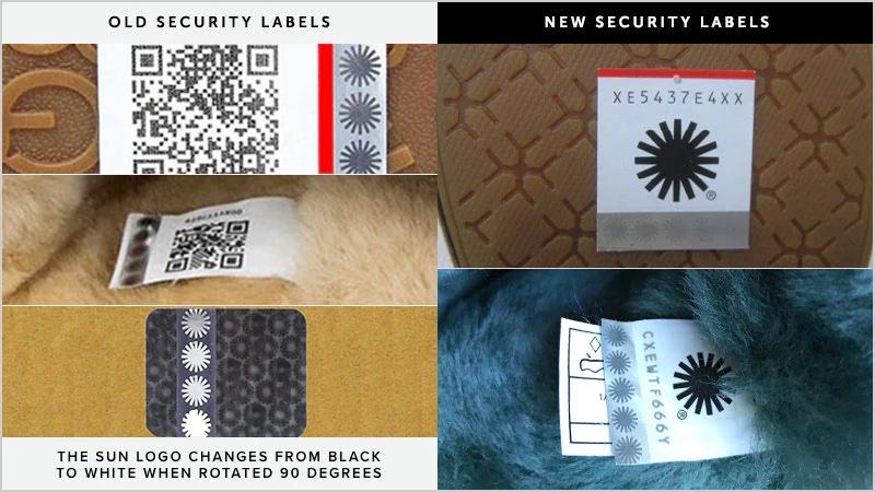 UGG security labels