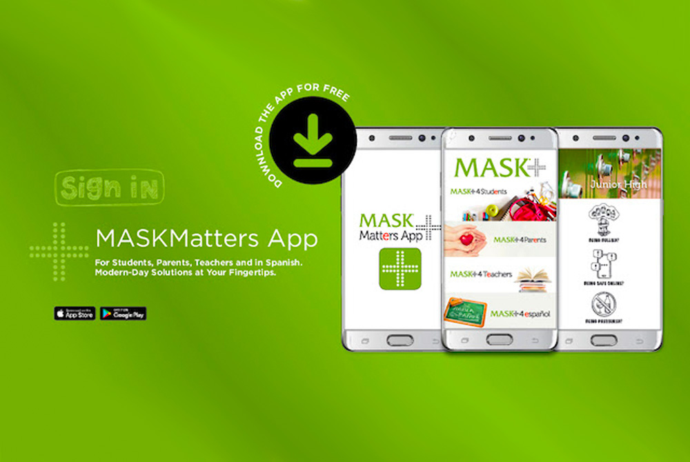 MASKMatters App: One-of-a-Kind App With Child Safety In Mind