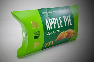 Is the McDonald's Apple Pie Really Made from Apple?
