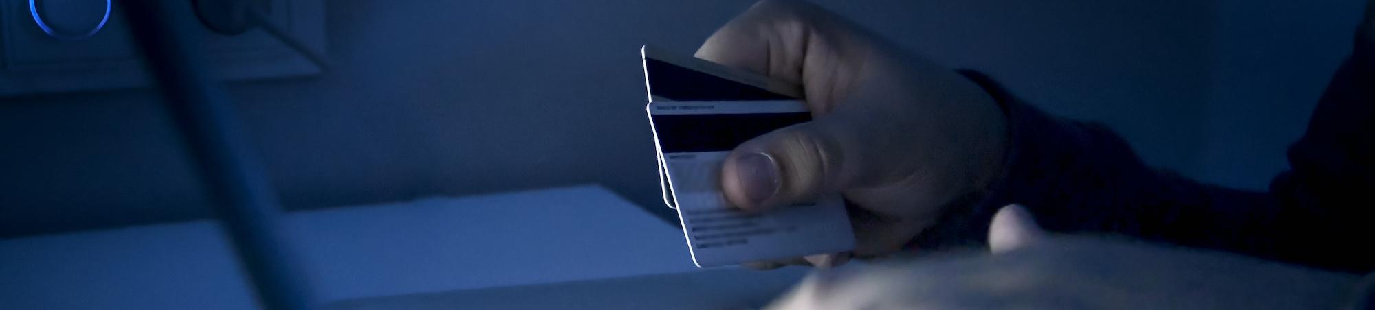 Stolen credit card information