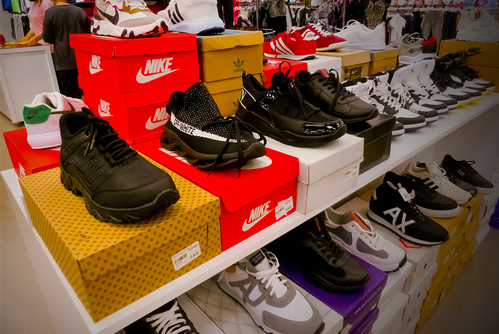 Nike Teams Up with U.S. Customs to Stop Counterfeiters