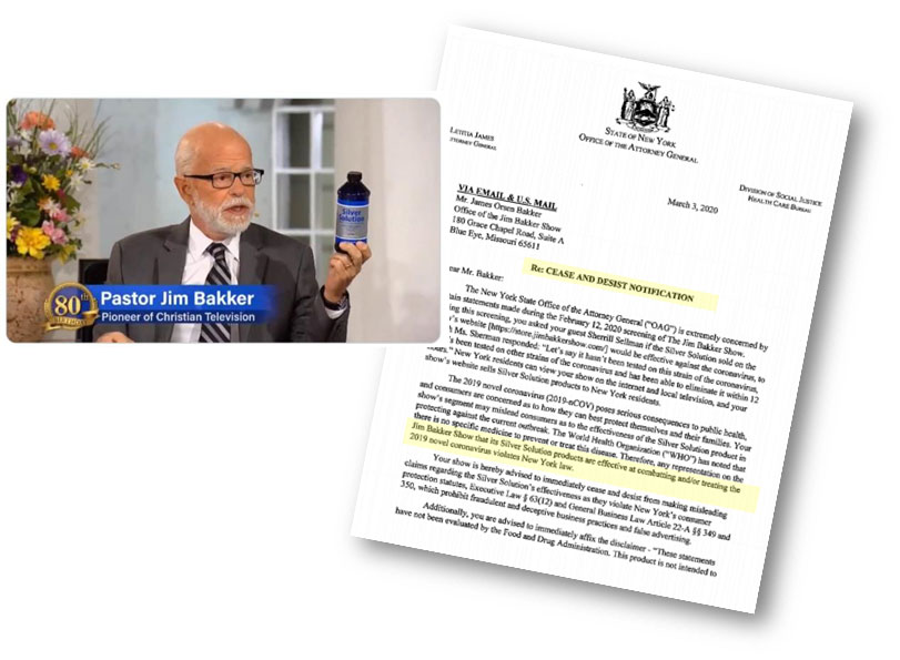 Example COVID vaccine scam.