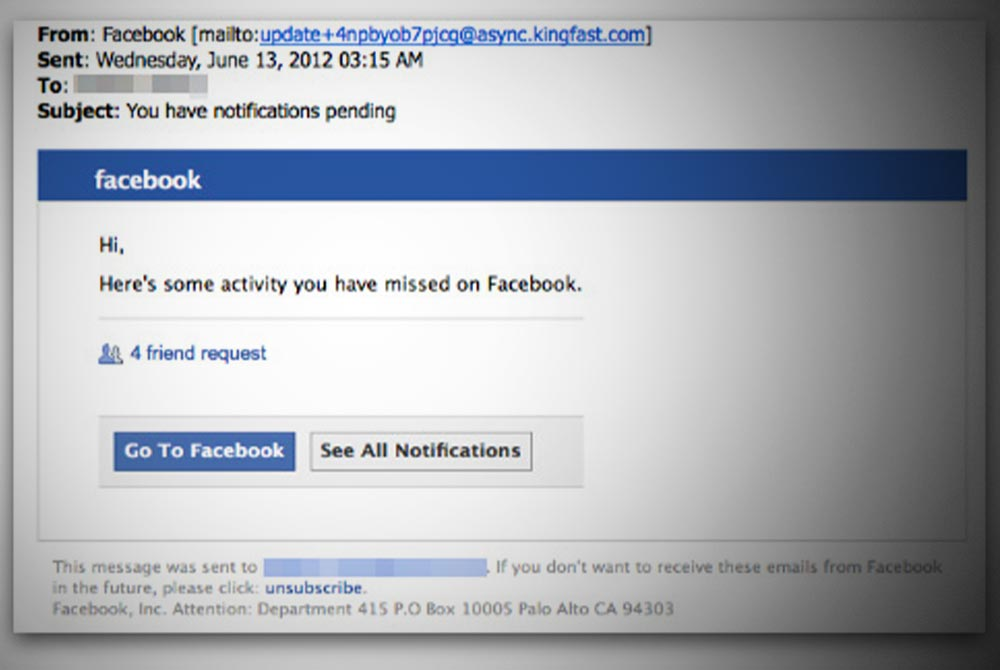 Is That Email Really From Facebook? 5 Foolproof Ways to Spot a Scam